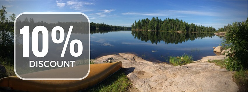 10 percent coupon from anderson outfitters for lac la croix canoe trip