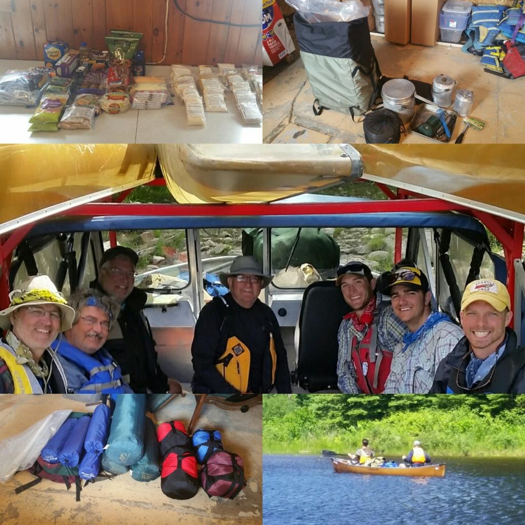 complete canoe packages, canoe package rental, complete outfitted canoe packages