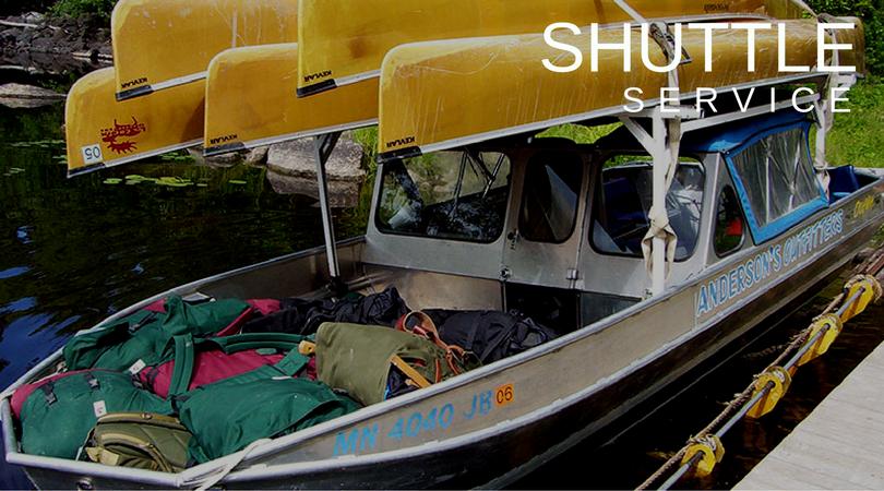 canoe shuttle service, bwcaw canoe shuttle, canoe trip shuttle lac la croix, quetico, bwcaw