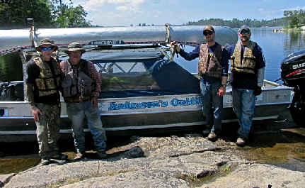 Experienced canoe outfitters in crane lake, MN, Anderson's Canoe Shuttle & Outfitting